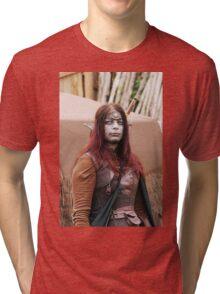 Monsters against Hobbits  8  Olao-Olavia by Okaio Créations fz 1000  c (h) Tri-blend T-Shirt