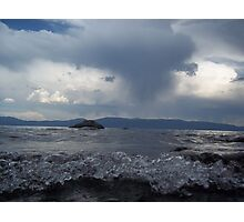 Stormy Lake Tahoe Photographic Print
