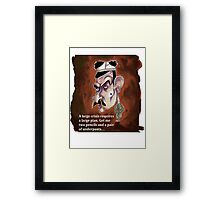 Blackadder Framed Print