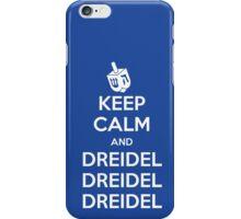 Keep Calm and Dreidel iPhone Case/Skin