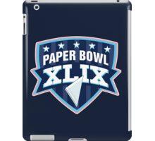 Paper Bowl Sunday iPad Case/Skin