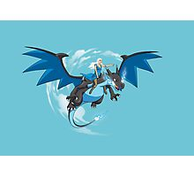 Master of Dragons Photographic Print