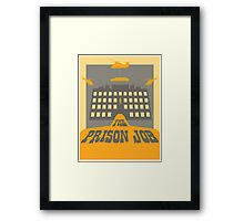 The Prison Job Framed Print