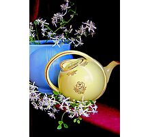 Jasmine Tea - pot Photographic Print