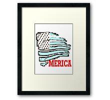 Merica! Framed Print