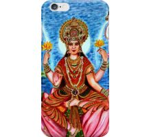 Goddess Lakshami iPhone Case/Skin