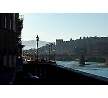 Florence by the Arno Photographic Print