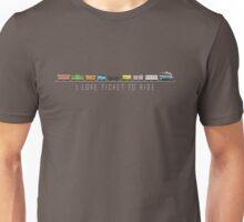 Ticket & Ride Unisex T-Shirt