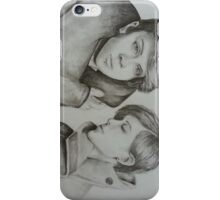 Tegan and Sara Sketch iPhone Case/Skin