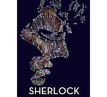 Sherlock mathematical construction T-Shirt Photographic Print