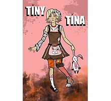 Tiny Tina Photographic Print