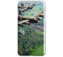 Two Lancasters over West Wycombe iPhone Case/Skin