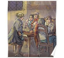 The Three Broomsticks Poster