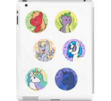 Sticker Badges - My Little Pony Secondaries! iPad Case/Skin