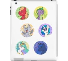Sticker Badges - My Little Pony Secondaries! iPad Case/Skin
