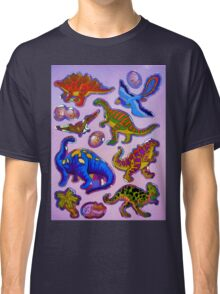 Several colorful dinosaurs Classic T-Shirt
