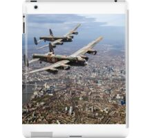 Two Lancasters over London iPad Case/Skin