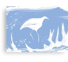 water bird Canvas Print