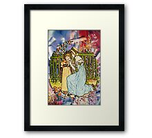 A MOTHER'S COMFORT Framed Print