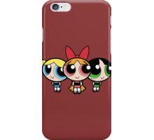 Powerpuff girls iPhone Case/Skin
