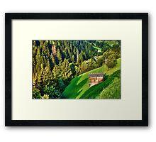 Zillertal Valley Framed Print