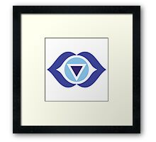 Ajna: The Third Eye Chakra Framed Print