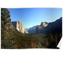 The Picturesque Yosemite Valley Poster