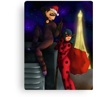 Miraculous Chistmas Canvas Print