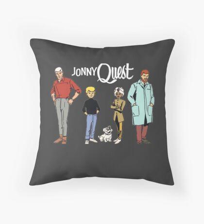 Jonny Quest Throw Pillow
