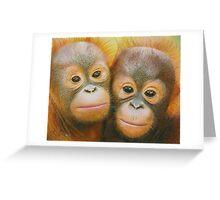 Rocky and Rickina Greeting Card