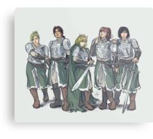Armored Metal Print