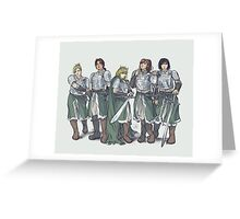 Armored Greeting Card