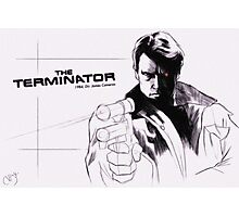 The Terminator Photographic Print