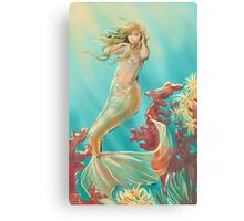 Mermaid Krista Canvas Print