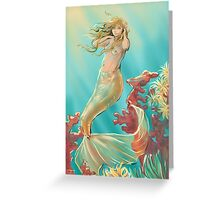Mermaid Krista Greeting Card