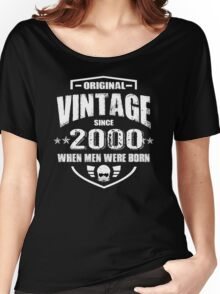 VINTAGE since 2000 IS PERFECT Women's Relaxed Fit T-Shirt