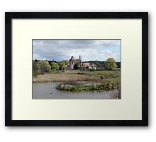The Old Goulburn Brewery Framed Print