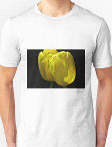 Two Yellow Tulips Unisex T-Shirt