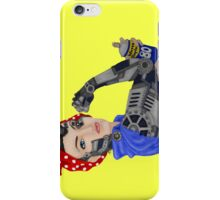 Cyborg Rosie - Color iPhone Case/Skin