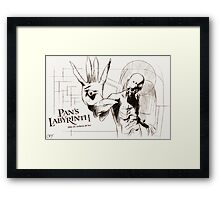 Pan's Labyrinth, El Laberinto Del Fauno Framed Print