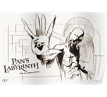 Pan's Labyrinth, El Laberinto Del Fauno Poster