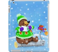 Bear Caroling  iPad Case/Skin