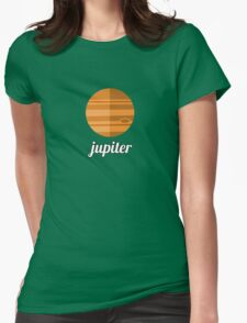 Planets - JUPITER Womens Fitted T-Shirt