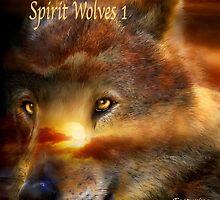 Spirit Wolves 1 2015 Calendar by Carol  Cavalaris