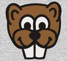 Beaver face Kids Tee