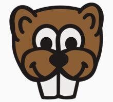 Beaver face Kids Clothes