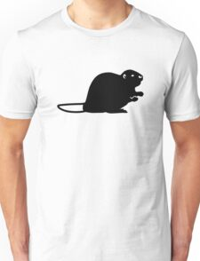 Black beaver Unisex T-Shirt