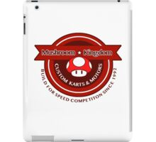 Mushroom Kingdom Custom Karts iPad Case/Skin