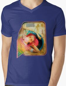 Bubblegum Pop Mens V-Neck T-Shirt