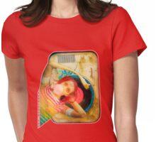 Bubblegum Pop Womens Fitted T-Shirt